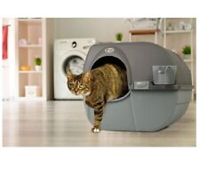 New listing Omega Paw Roll 'N Clean Self Cleaning Cat Litter Box, Large Free Shipping!