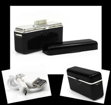 2800MAH PORTABLE EXTERNAL BLACK BATTERY CHARGER USB IPHONE 4S 4 3GS IPOD NANO