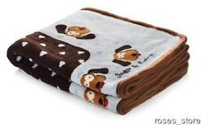 """New Blue Heart Snuggle Dog Blanket 48"""" x 30"""" for Dogs and Cats by Smart Pet Love"""