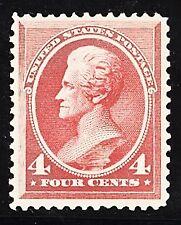 United States Scott No 215, NH