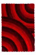 Tapis rouge rectangulaire pour la maison, 150 cm x 150 cm