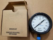 """Ashcroft 45 1279AS 04L 100 psi 4.5"""" Pressure Gauge Duragauge 451279AS04LXLL100#"""