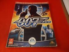 007 Agent Under Fire Playstation 2 PS2 Strategy Guide Player's Hint Book