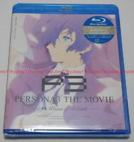 New Persona 3 The Movie #4 Winter of Rebirth Blu-ray Japan English ANSX-12111