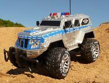 RC XL Buggy Jeep POLIZEI mit LICHT & AKKU Länge 39cm Ferngesteuert  27MHz 403170