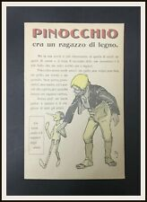 ⭐️ Depliant PINOCCHIO MUSSINO - Ed. Bemporad Firenze - 1911 - DISNEYANA.IT ⭐