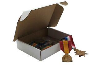 "50 x Small White Cardboard Postal Subscription Box 5.5 x 4.4 x 1.3"""