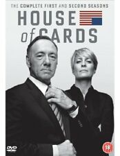 House of Cards - Season 1-2 [DVD] - DVD  7UVG The Cheap Fast Free Post