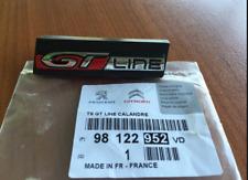 Neuf D'Origine Peugeot Gt Line Calandre Badge avant Emblème pour 308 Mk2 2014+