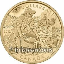 Canada 2012 Cariboo Gold Rush 150th Anniversary with Camel $100 Gold Proof