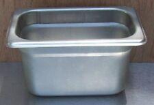 """Restaurant Equipment Bar Supplies NINTH SIZE STAINLESS STEAM FOOD PAN 4"""" DEEP"""