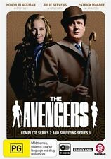 The Avengers - Complete Series 2 and Surviving Series 1 NEW R4 DVD