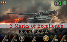 World of Tanks 3 Marks of Excellence / Tier X / Professional WOT Boost