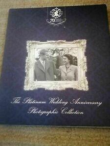 LONDON MINT PLATINUM WEDDING ANNIVERSARY PHOTOGRAPHIC COLLECTION, ALBUM + 1 COIN