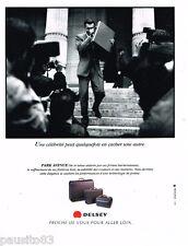 PUBLICITE ADVERTISING 085  1995  DELSEY   attaché-case bagages PARK AVENUE