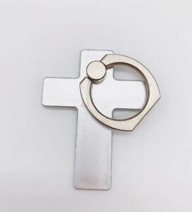 Universal 360 Rotation Finger Ring Stand Holder For Cell Phone Tablet - Cross