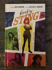 Firefly Original Graphic Novel: The Sting - Hardback Rare Review Copy