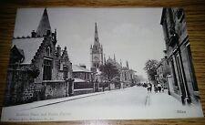 Bedford Place and Parish Church Alloa Postcard Un-posted