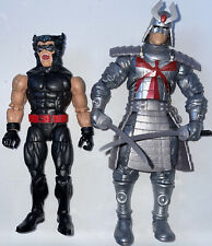 Marvel Legends Vintage X-Men Retro Wolverine & Silver Samurai Figures
