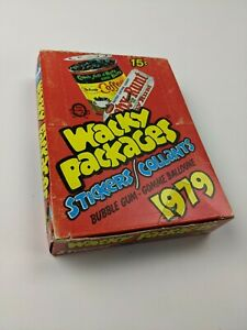 1979 O-PEE-CHEE Wacky Packages Series 1 UNOPENED Wax Box