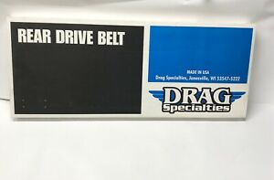 Harley-Davidson Drag Specialties Rear Drive Belt 1204-0043 New 130T Harley H-D