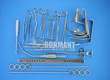 Tonsillectomy Set of 27 Pieces Surgical Instruments Premium Quality
