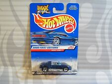 2000 HOT WHEELS  ''FIRST EDITIONS'' #80 = MX48 TURBO = BLUE  5sp ,   0910