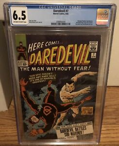 Daredevil 7 CGC 6.5 OW/W Pages