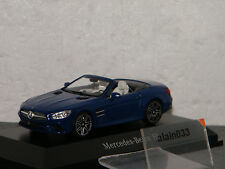 MERCEDES BENZ SL Spider 2012 brillant blue SPARK 1/43 Ref B66960533