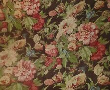3 1/3 YARDS SCHUMACHER FLORAL FABRIC ~ ASHBOURNE PEONY ~  UPHOLSTERY / CURTAINS