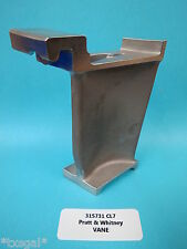 Pratt & Whitney Aircraft 315731 CL7 Turbine Engine Vane Blade New Vintage 1961
