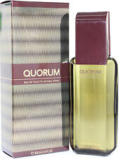 QUORUM BY ANTONIO PUIG 3.4/3.3 OZ EDT SPRAY FOR MEN NIB