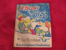 MCBROOM'S GHOST  VINTAGE BOOK BY SID FLEISCHMAN WEEKLY READER 1971 HTF!  HC