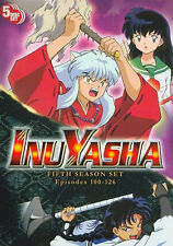 InuYasha . The Complete Season Five . 5. Staffel . Inu Yasha . Anime . 5 DVD NEU