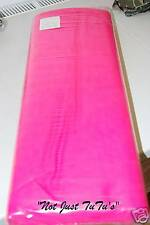 NeW FLUORESCENT CERISE PINK DRESS NET TULLE 2 METRES X 59.06ins