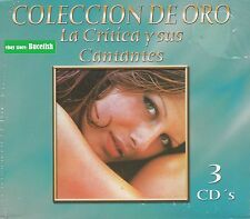 La Critica y sus Cantantes Coleccion de oro Box set 3CD New Nuevo sealed