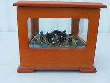 Mr Christmas Animated Nativity Music Box, Away in a manger song, Collect