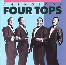 Four Tops: Anthology (CD, 1986) 2-Disc Fatbox Set Includes Booklet Very Good!
