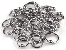 30pcs Wholesale Body Jewellery Lots 316L Surgical Steel Eyebrow Piercings Rings