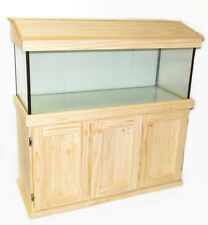 4ft x 18 x 18 Fish Tank Cabinet and Hood Aquarium