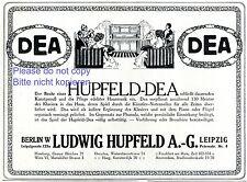 PIANO DEA HUPFELD Publicité 1911 Berlin même jeu fin musique rôle piano