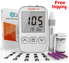 Oh'Care Lite Blood Sugar Test Kit – Blood Glucose Meter