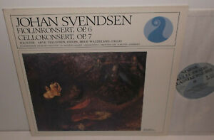 NKF 30 002 Svendsen Violin & Cello Concertos Arve Tellefsen Hege Waldeland