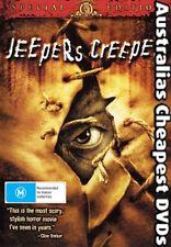 Jeepers Creepers DVD Postage Within Australia Region All