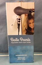 Hands Free Hair Dryer Holder, Blow Drying Wall Mount Design, Bestie Brands NOB