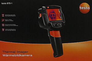 Testo 870-1 Wärmebildkamera (9463FH512)