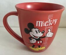 Red Disney Mickey Mouse Mug Coffee Tea