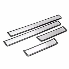 Chrome Door Sills For 2009-2013 Mazda3 *protection+style look*
