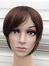 Unbranded Bangs Medium Length Wigs & Hairpieces