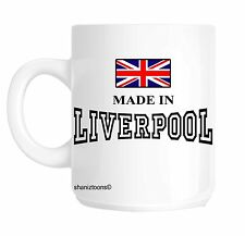 Made Born In Liverpool Birthday Gift Mug shan630